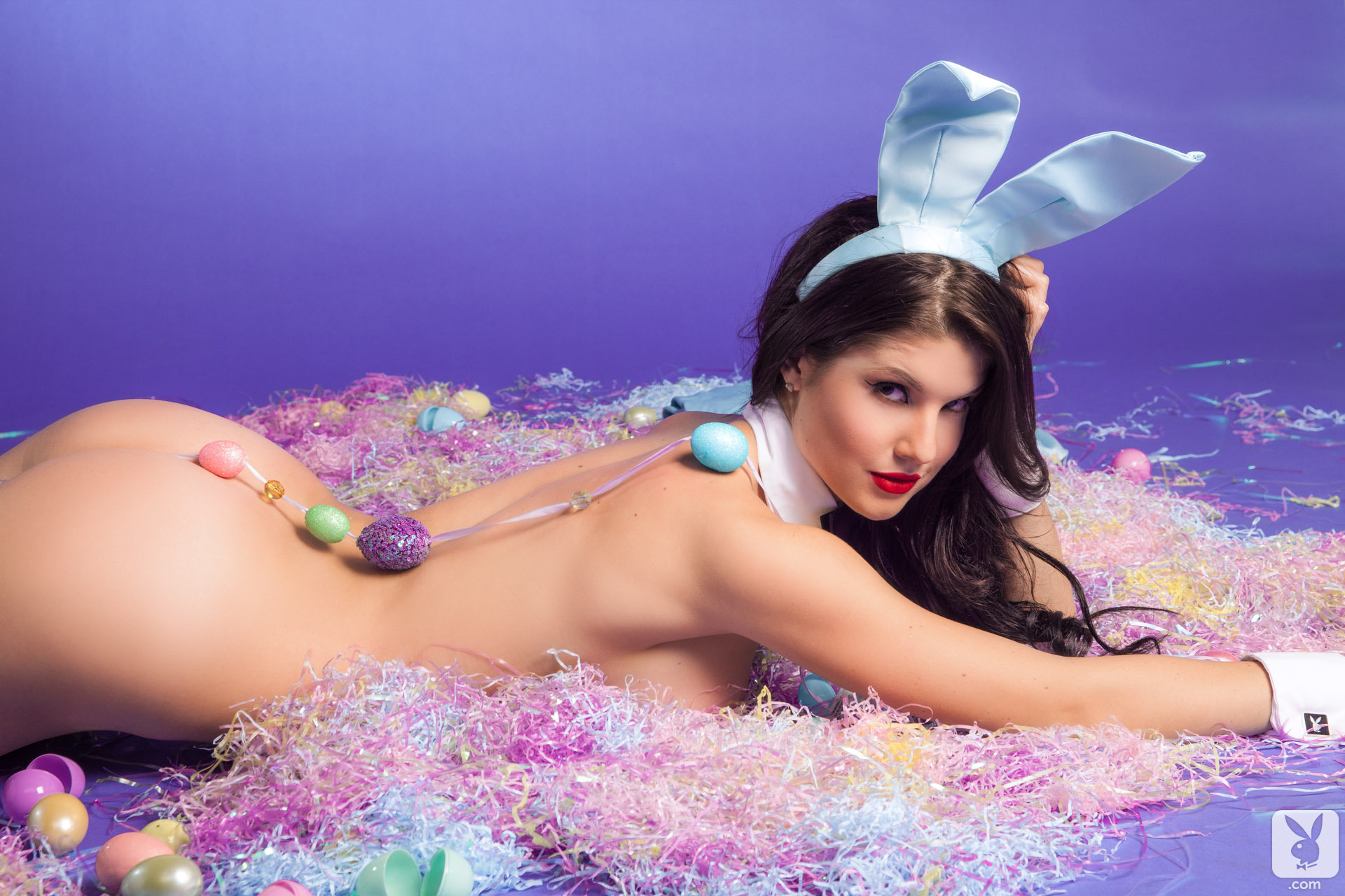 Sexy easter rabbit screensaver