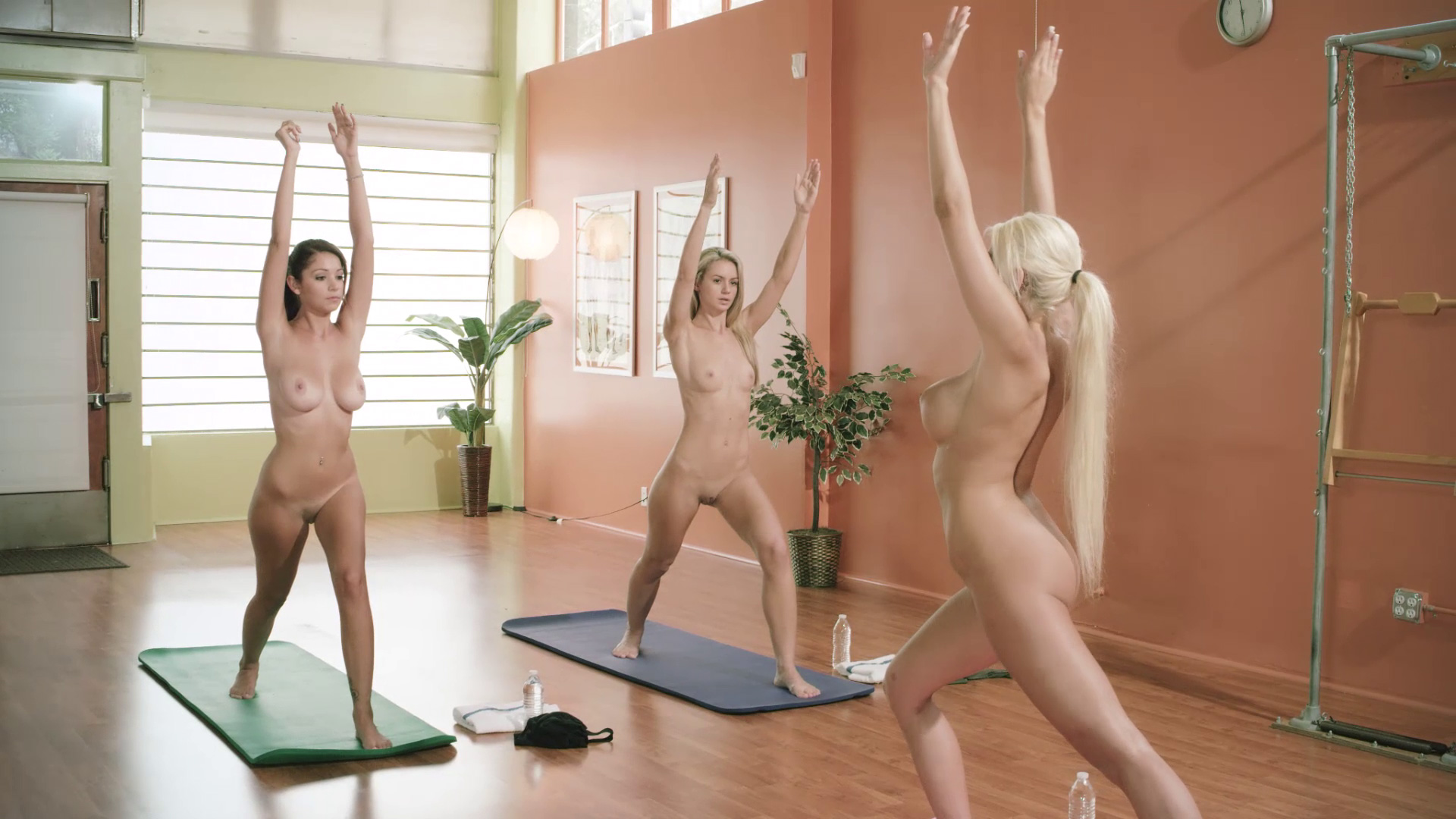 playboys naked yoga